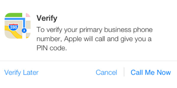 Verify your Business Phone Number